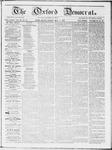 Oxford Democrat : Vol 19. No. 15 - May 01, 1868