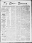 The Oxford Democrat : Vol 19. No. 17 - May 15, 1868