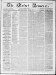 Oxford Democrat : Vol 19. No. 18 - May 22, 1868