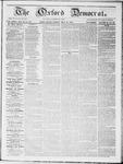Oxford Democrat : Vol 19. No. 19 - May 29, 1868