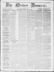 The Oxford Democrat : Vol 19. No. 21 - June 12, 1868