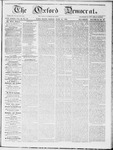 The Oxford Democrat : Vol 19. No. 22 - June 19, 1868
