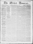 Oxford Democrat : Vol 19. No. 22 - June 19, 1868