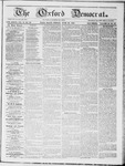 The Oxford Democrat : Vol 19. No. 23 - June 26, 1868