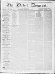 Oxford Democrat : Vol 19. No. 26 - July 17, 1868