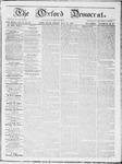 Oxford Democrat : Vol 19. No. 28 - July 31, 1868