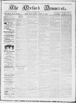 The Oxford Democrat : Vol 19. No. 30 - August 14, 1868