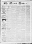 Oxford Democrat : Vol 19. No. 30 - August 14, 1868