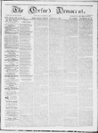 The Oxford Democrat : Vol 19. No. 31 - August 21, 1868