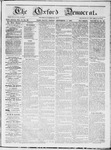 The Oxford Democrat : Vol 19. No. 33 - September 04, 1868