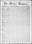 The Oxford Democrat : Vol 19. No. 36 - September 25, 1868