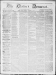 The Oxford Democrat : Vol 19. No. 38 - October 09, 1868