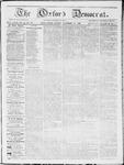 Oxford Democrat : Vol 19. No. 43 - November 13, 1868