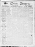 The Oxford Democrat : Vol 19. No. 44 - November 20, 1868