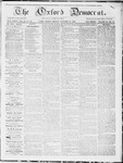 Oxford Democrat : Vol. 19, No. 52 - January 15, 1869