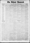 Oxford Democrat : Vol. 36, No. 1 - January 22, 1869