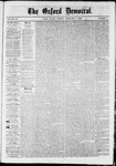 The Oxford Democrat : Vol. 36, No. 3 - February 05, 1869
