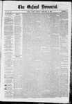 The Oxford Democrat : Vol. 36, No. 4 - February 12, 1869