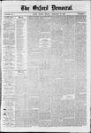 Oxford Democrat : Vol. 36, No. 5 - February 19, 1869