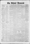 Oxford Democrat : Vol. 36, No. 6 - February 26, 1869
