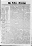 Oxford Democrat : Vol. 36, No. 7 - March 05, 1869