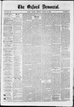 The Oxford Democrat : Vol. 36, No. 9 - March 19, 1869