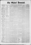 Oxford Democrat : Vol. 36, No. 10 - March 26, 1869