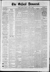 Oxford Democrat : Vol. 36, No. 11 - April 02, 1869