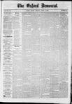 Oxford Democrat : Vol. 36, No. 12 - April 09, 1869