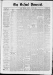 Oxford Democrat : Vol. 36, No. 13 - April 16, 1869
