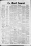 Oxford Democrat : Vol. 36, No. 14 - April 23, 1869