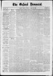 The Oxford Democrat : Vol. 36, No. 15 - April 30, 1869