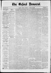 Oxford Democrat : Vol. 36, No. 15 - April 30, 1869