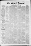 The Oxford Democrat : Vol. 36, No. 17 - May 14, 1869