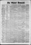 Oxford Democrat : Vol. 36, No. 18 - May 21, 1869
