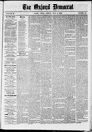 The Oxford Democrat : Vol. 36, No. 19 - May 28, 1869