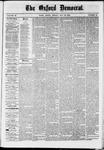 Oxford Democrat : Vol. 36, No. 19 - May 28, 1869