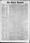 Oxford Democrat : Vol. 36, No. 21 - June 11, 1869