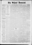 Oxford Democrat : Vol. 36, No. 22 - June 18, 1869
