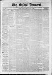 Oxford Democrat : Vol. 36, No. 24 - July 02, 1869