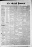Oxford Democrat : Vol. 36, No. 25 - July 09, 1869