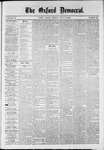 The Oxford Democrat : Vol. 36, No. 26 - July 16, 1869
