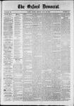 Oxford Democrat : Vol. 36, No. 27 - July 23, 1869