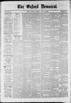 Oxford Democrat : Vol. 36, No. 28 - July 30, 1869