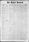 The Oxford Democrat : Vol. 36, No. 30 - August 13, 1869