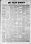 The Oxford Democrat : Vol. 36, No. 31 - August 20, 1869