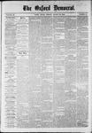 Oxford Democrat : Vol. 36, No. 31 - August 20, 1869