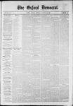 The Oxford Democrat : Vol. 36, No. 32 - August 27, 1869