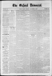 Oxford Democrat : Vol. 36, No. 33 - September 03, 1869