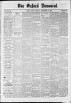 Oxford Democrat : Vol. 36, No. 36 - September 24, 1869